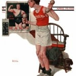 1922-04-29-Saturday-Evening-Post-Norman-Rockwell-cover-Boy-Lifting-Weights-no-logo-400-Digimarc