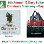 12 Days Before Xmas Day 2 150x150 6th Annual 12 Days Before Christmas Giveaway   Day 7