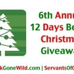 6th Annual 12 Days Before Christmas Giveaway 150x150 6th Annual 12 Days Before Christmas Giveaway   Day 7