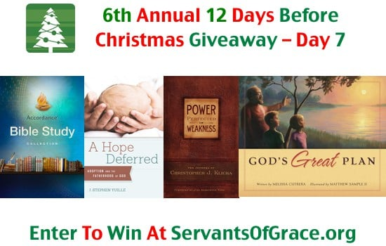 6th Annual 12 Days Before Christmas Giveaway - Day 7