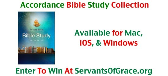 Accordance Bible Study Collection 6th Annual 12 Days Before Christmas Giveaway   Day 7