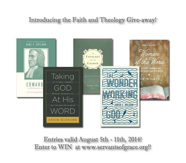 Introduction to Theology For Life and Book Giveaway 8/5/2014-8/11/2014