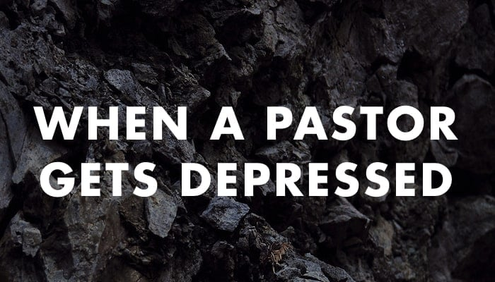 When A Pastor Gets Depressed