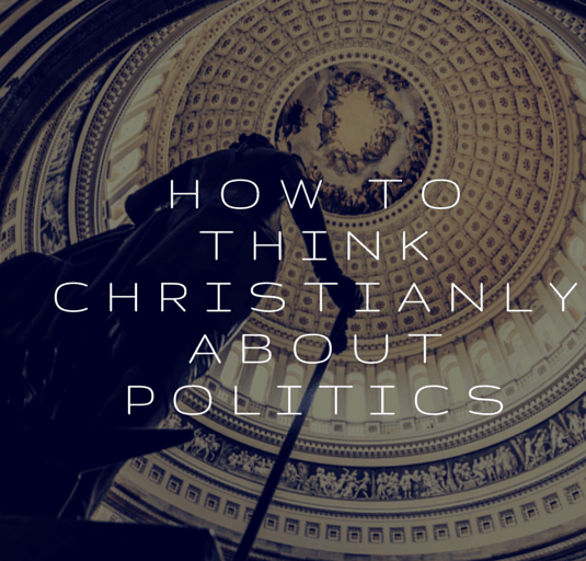 How to think Christianly about politics
