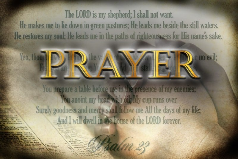 Prayer that starts with God