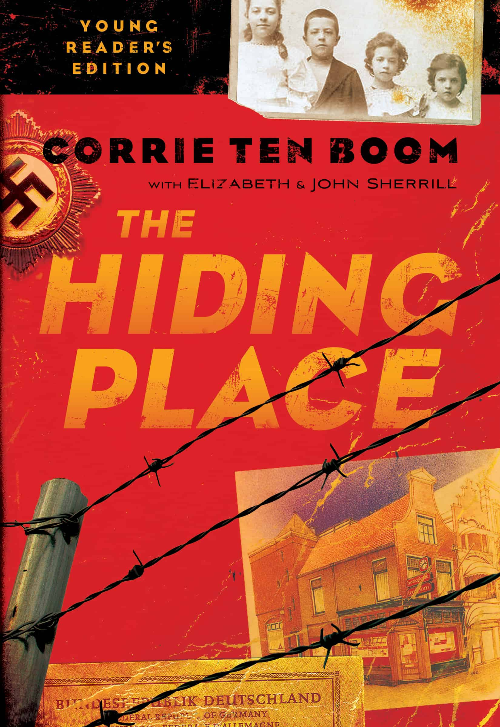 hiding place book report The ten boom family lived a quiet, respectable life in the dutch town of haarlem  corrie and her father made and repaired clocks her sister was their.