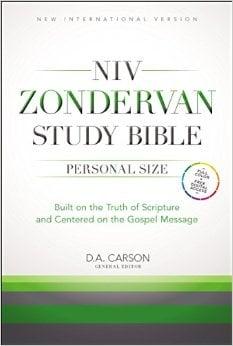 NIV Zondervan Study Bible (2015)