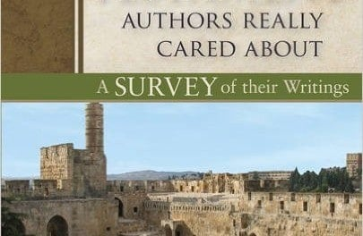 What the New Testament Authors Really Cared About (2nd Ed.) Ed. by Kenneth Berding & Matt Williams