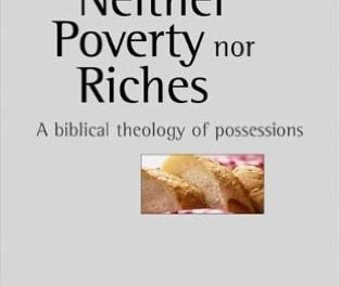 Neither Poverty nor Riches: A Biblical Theology of Possessions (Craig Blomberg)