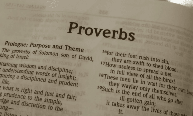 Dan Doriani – How Do I Preach Expository Sermons from Proverbs?