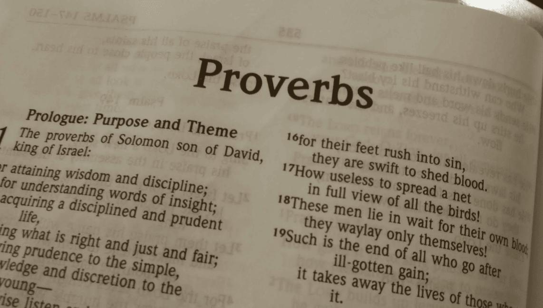 Proverbs Friendship Sermon : Dan doriani how do i preach expository sermons from