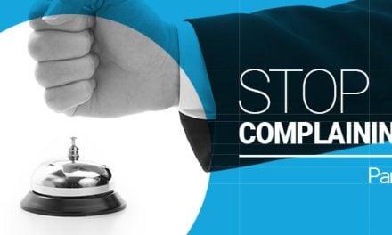 Jeremiah Johnson – Stop Complaining (Part 1)