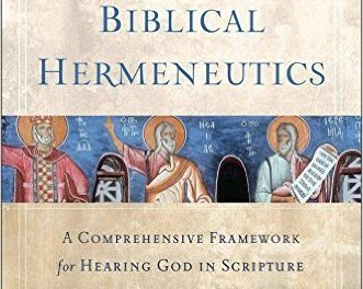 Introducing Biblical Hermeneutics by Craig G. Bartholomew