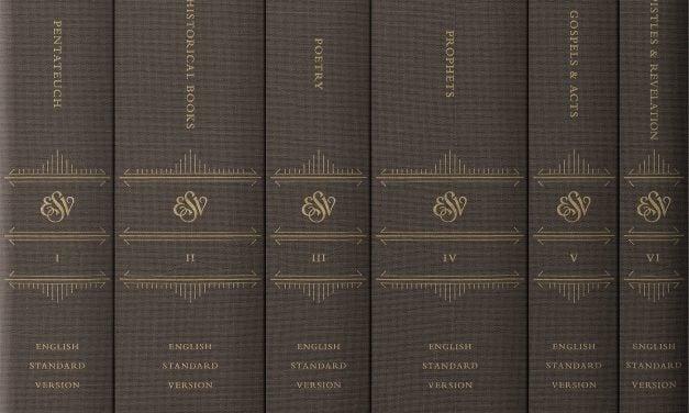 ESV Reader's Bible, 6-volume set (Crossway)