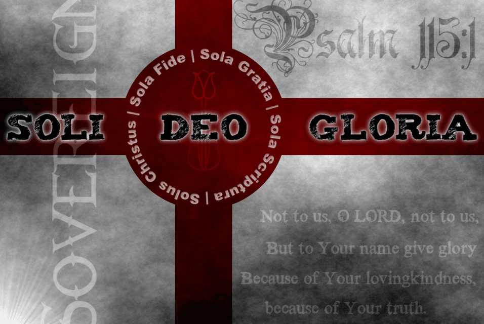 Soli Deo Gloria: More Than a Phrase