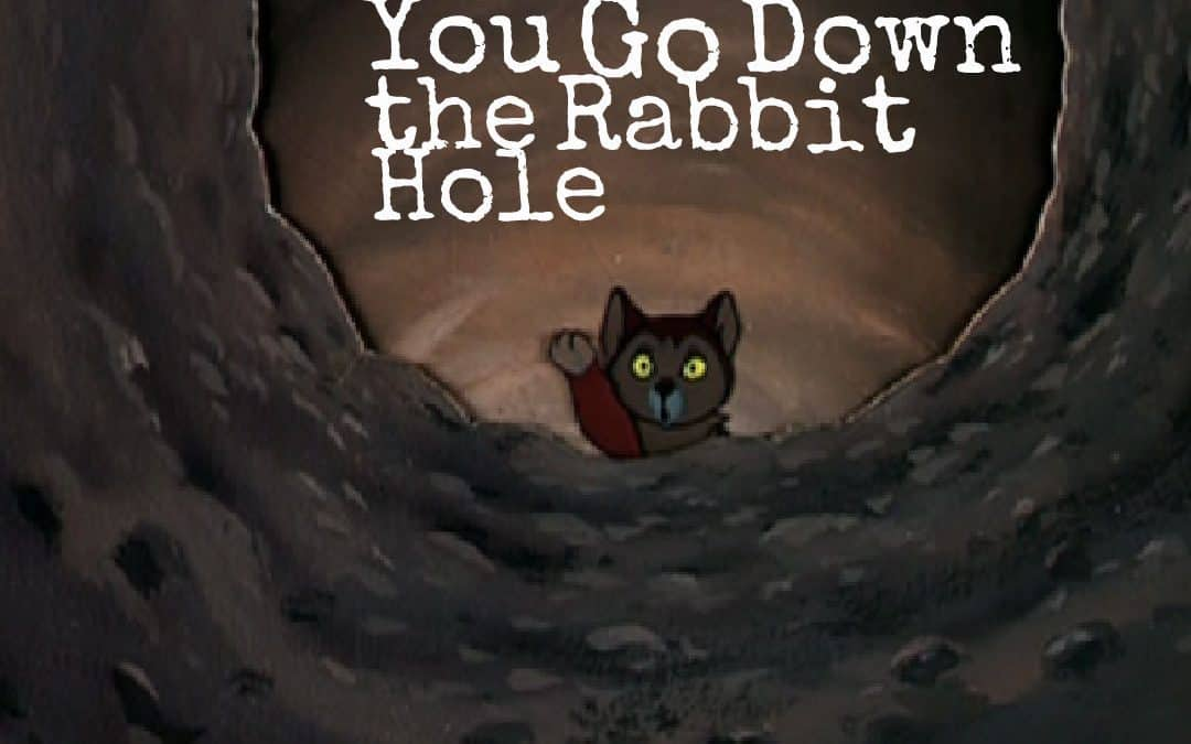 Take Care How Far You Go Down the Rabbit Hole