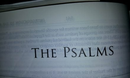 Preaching the Psalms to Ourselves