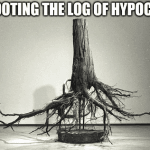 Uprooting the Log of Hypocrisy