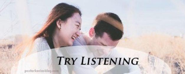 Try Listening