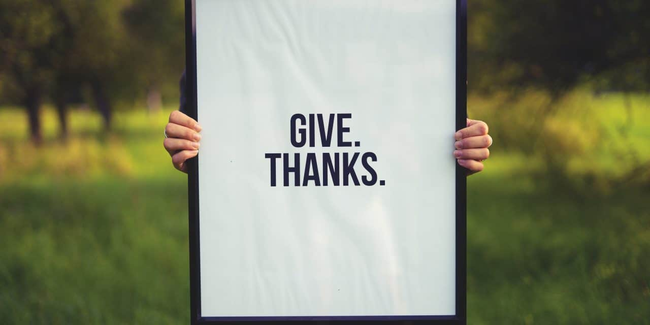 Giving Thanks In Every Season