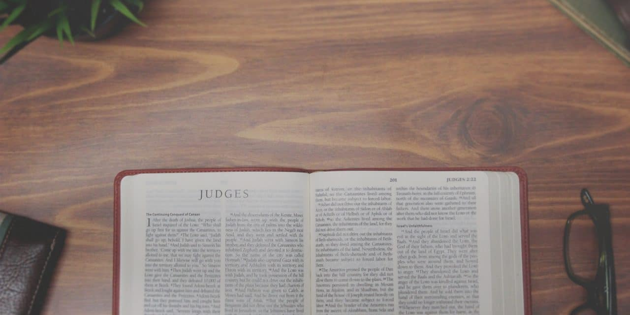 Why Study the Book of Judges?