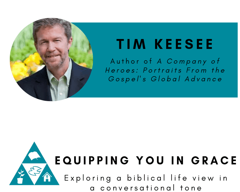 Tim Keesee– Portraits From the Gospel's Global Advance