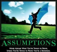 Assuming, Assuming Assumptions, Servants of Grace, Servants of Grace