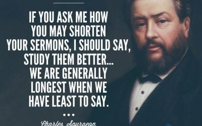 Charles Spurgeon and A Theology of the Holy Spirit In Preaching