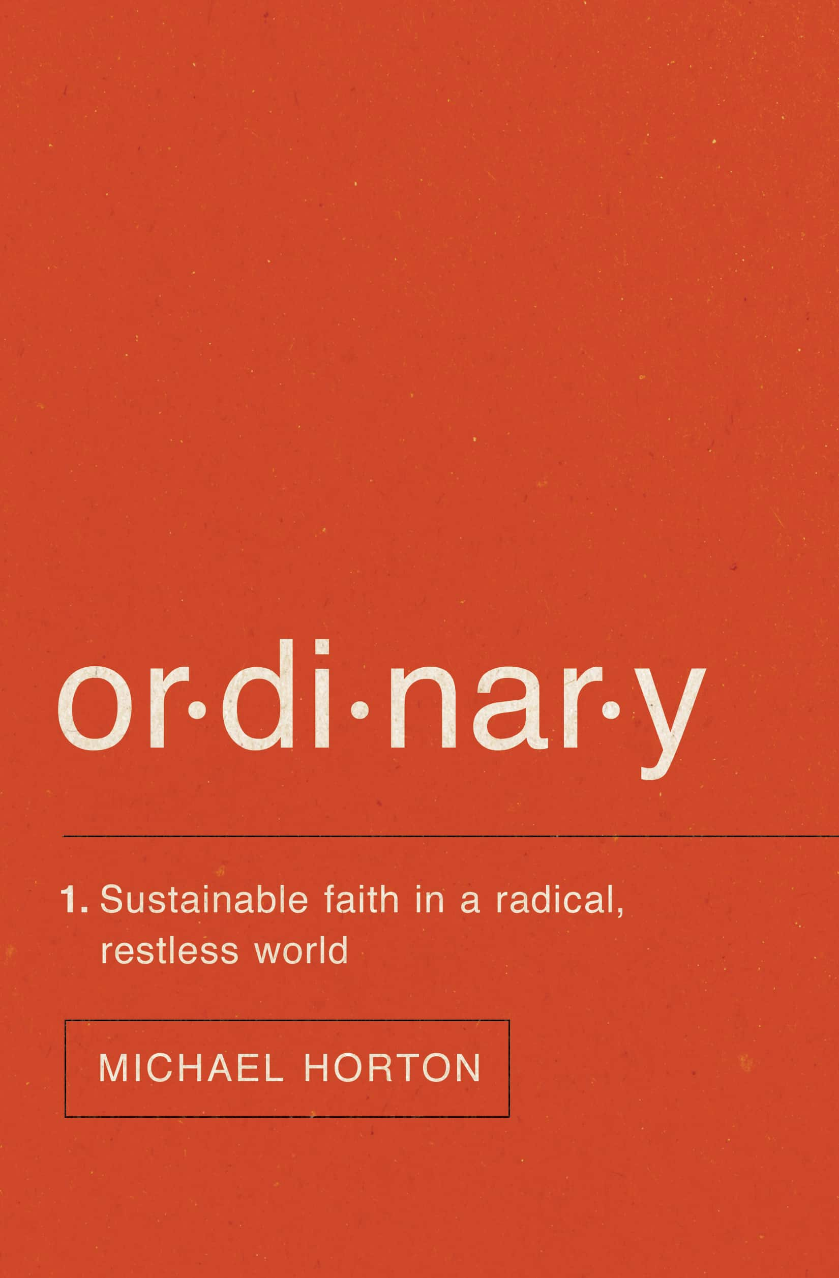 , Ordinary: Sustainable Faith in a Radical, Restless World, Servants of Grace