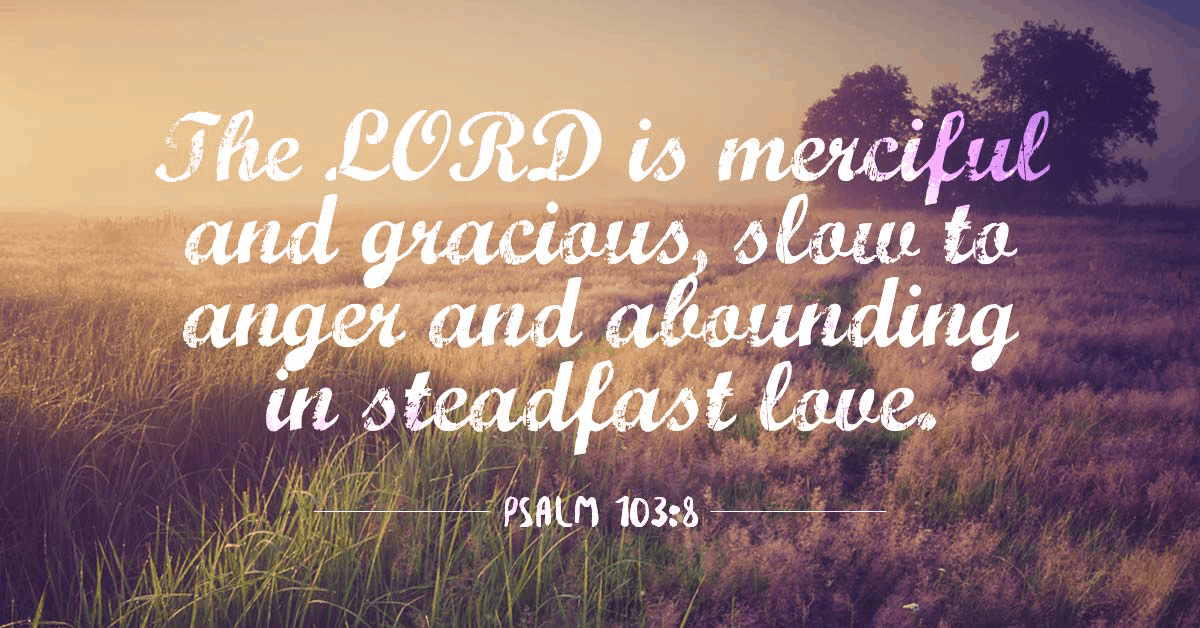 The Grace, Mercy, and Patience of God