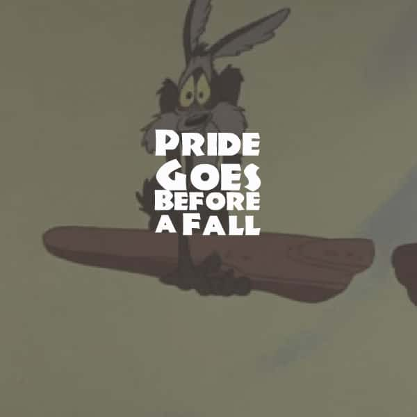 Pride, Pride Goes Before a Fall, Servants of Grace