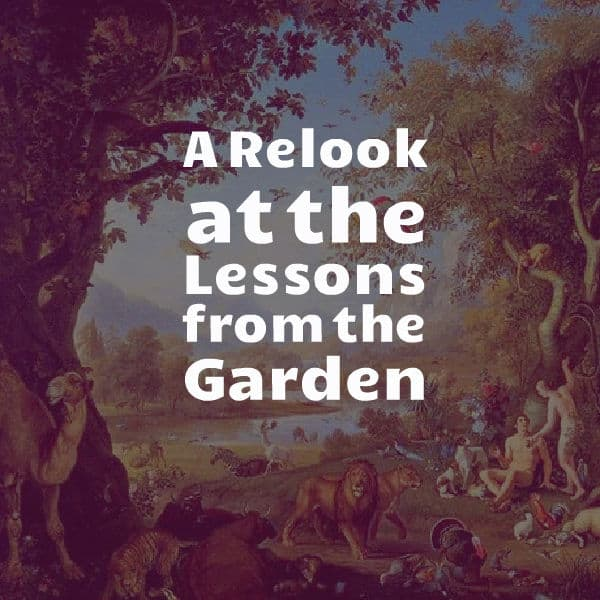 ", A Relook at the ""Lessons from the Garden"", Servants of Grace, Servants of Grace"