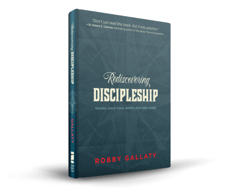 Discipleship, Rediscovering Discipleship (Robby Gallaty), Servants of Grace