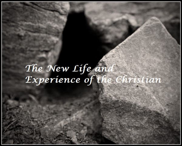 New Life, #1: The New Life and Experience of the Christian[Sermon], Servants of Grace, Servants of Grace