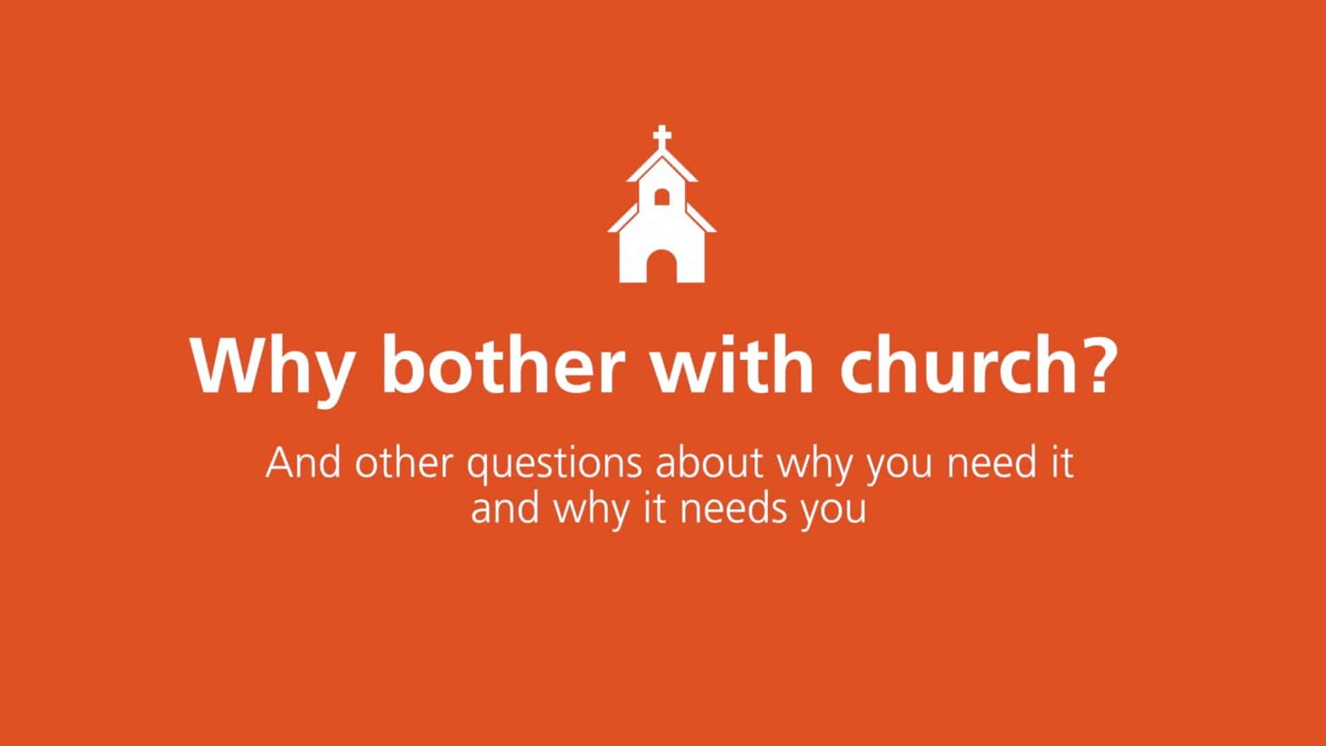 Bother, Why Bother with Church? And Other Questions About Why You Need It and Why It Needs You by Sam Allberry, Servants of Grace, Servants of Grace