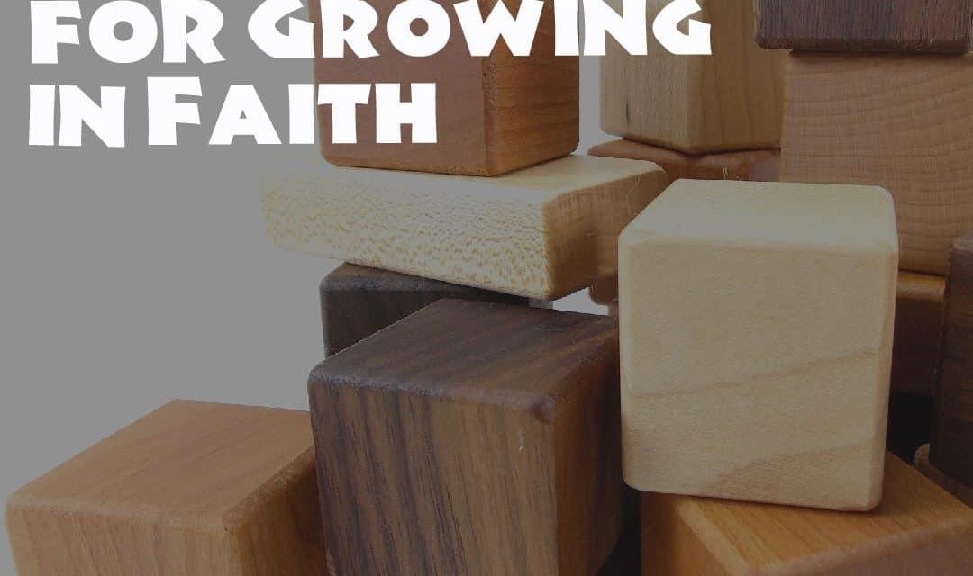 Blocks, Building Blocks for Growing in Faith, Servants of Grace