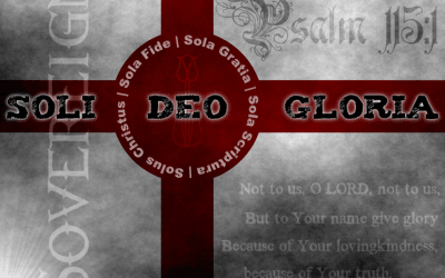 Soli Deo Gloria: More Than a Phrase