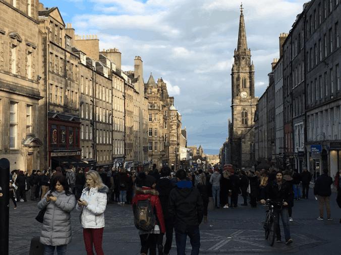 Truth Unhinged in Edinburgh Square