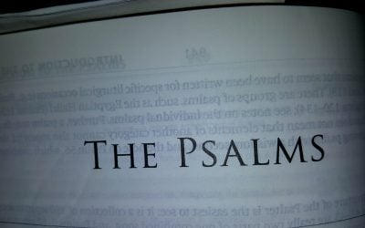 Five Benefits of Praying the Psalms