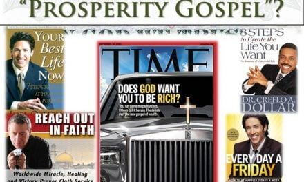 The Prosperity Gospel: A Global Epidemic
