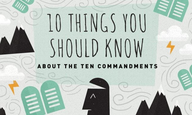 10 Things You Should Know about the Ten Commandments