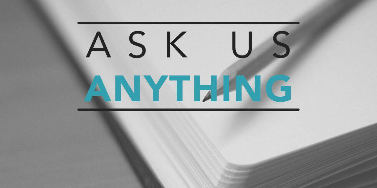 , Ask Us Anything Podcast, Servants of Grace