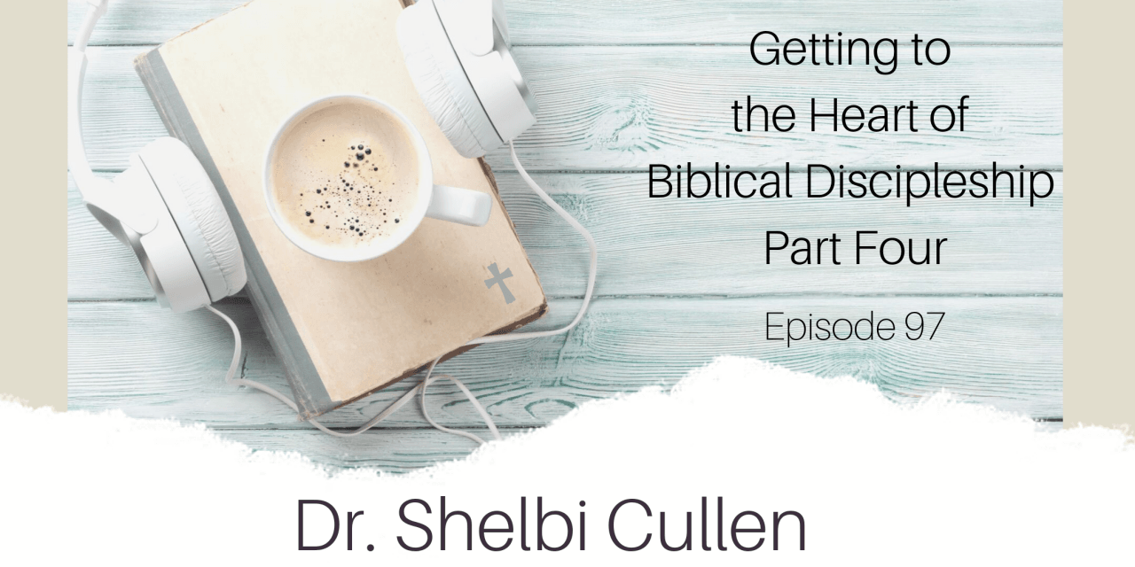 Discipleship, Getting to the Heart of Biblical Discipleship Part 4, Servants of Grace