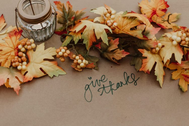Thankfulness, The Christian Grace of Thankfulness, Servants of Grace, Servants of Grace