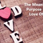 The Meaning and Purpose of the Love of God